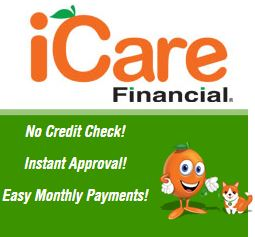iCare Financial Logo for Red Mountain Animal Clinic in Birmingham AL